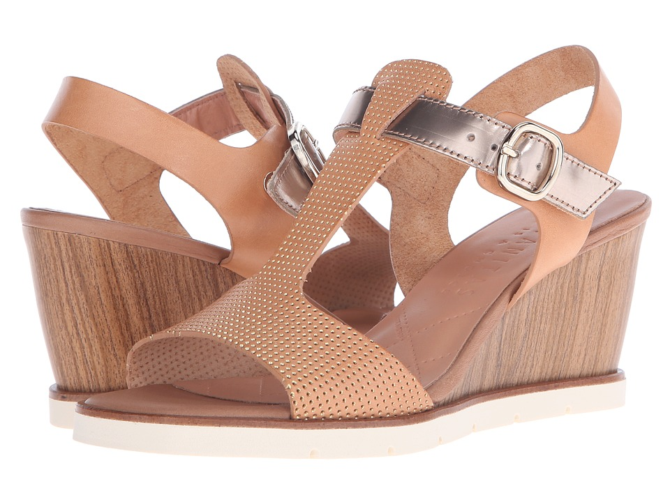 Hispanitas - Rhapsody (Vachetta Natural/Glow Mekong) Women's Wedge Shoes