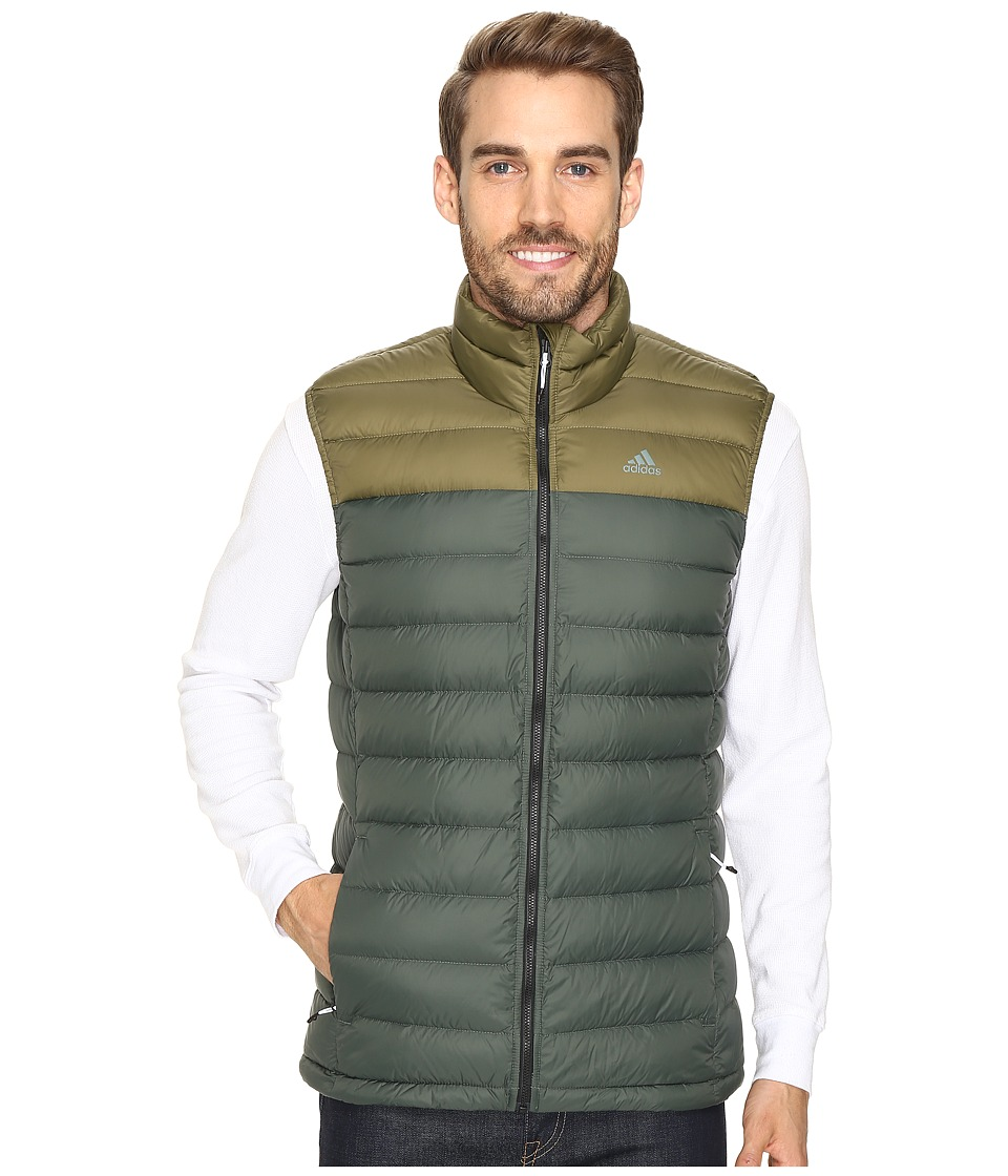 adidas Outdoor - Light Down Vest (Utility Ivy/Olive Cargo) Men's Vest