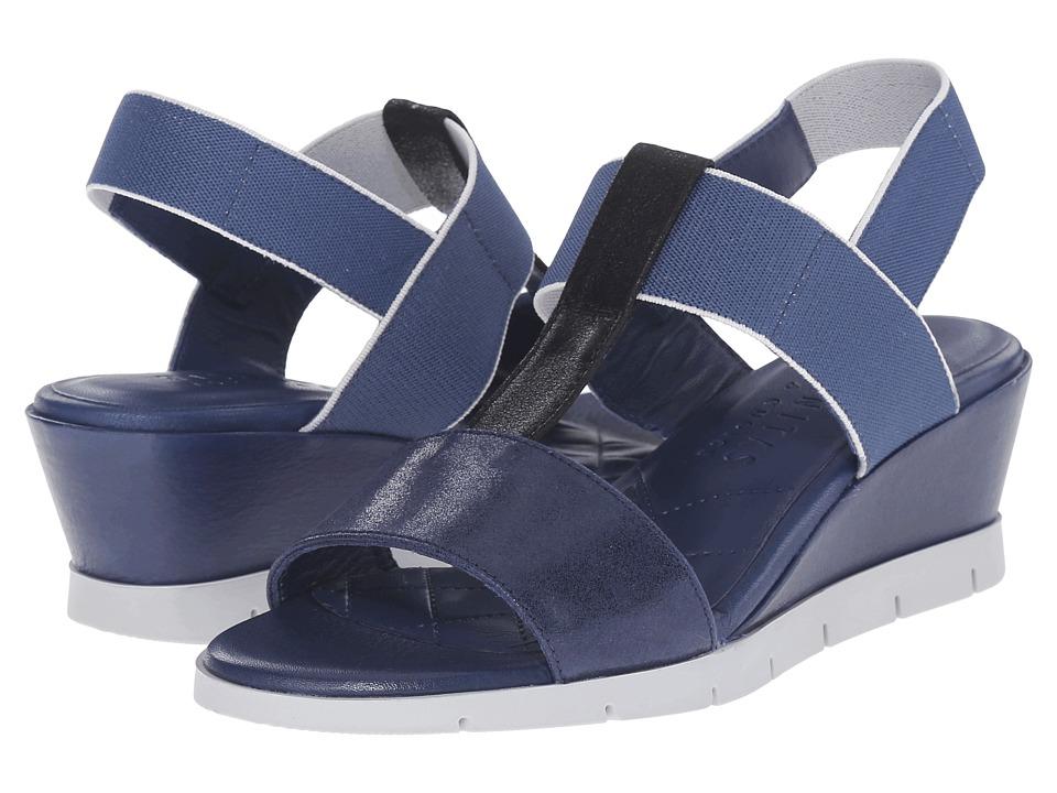 Hispanitas - Charmer (Magic Jeans/Magic Black) Women's Wedge Shoes