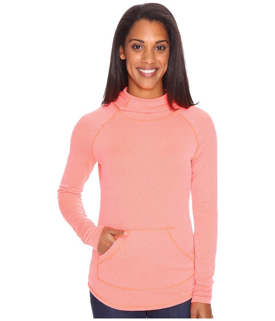 Marmot - Pace Hoodie (Neon Coral) Women's Sweatshirt