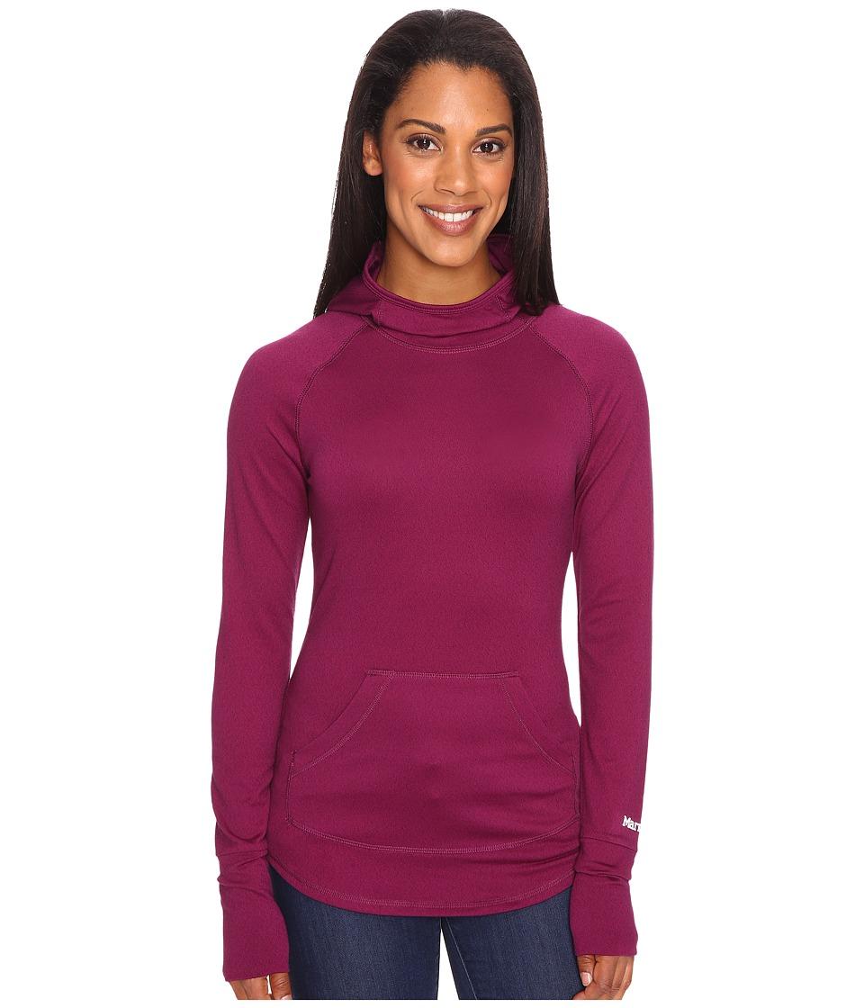 Marmot - Pace Hoodie (Magenta) Women's Sweatshirt