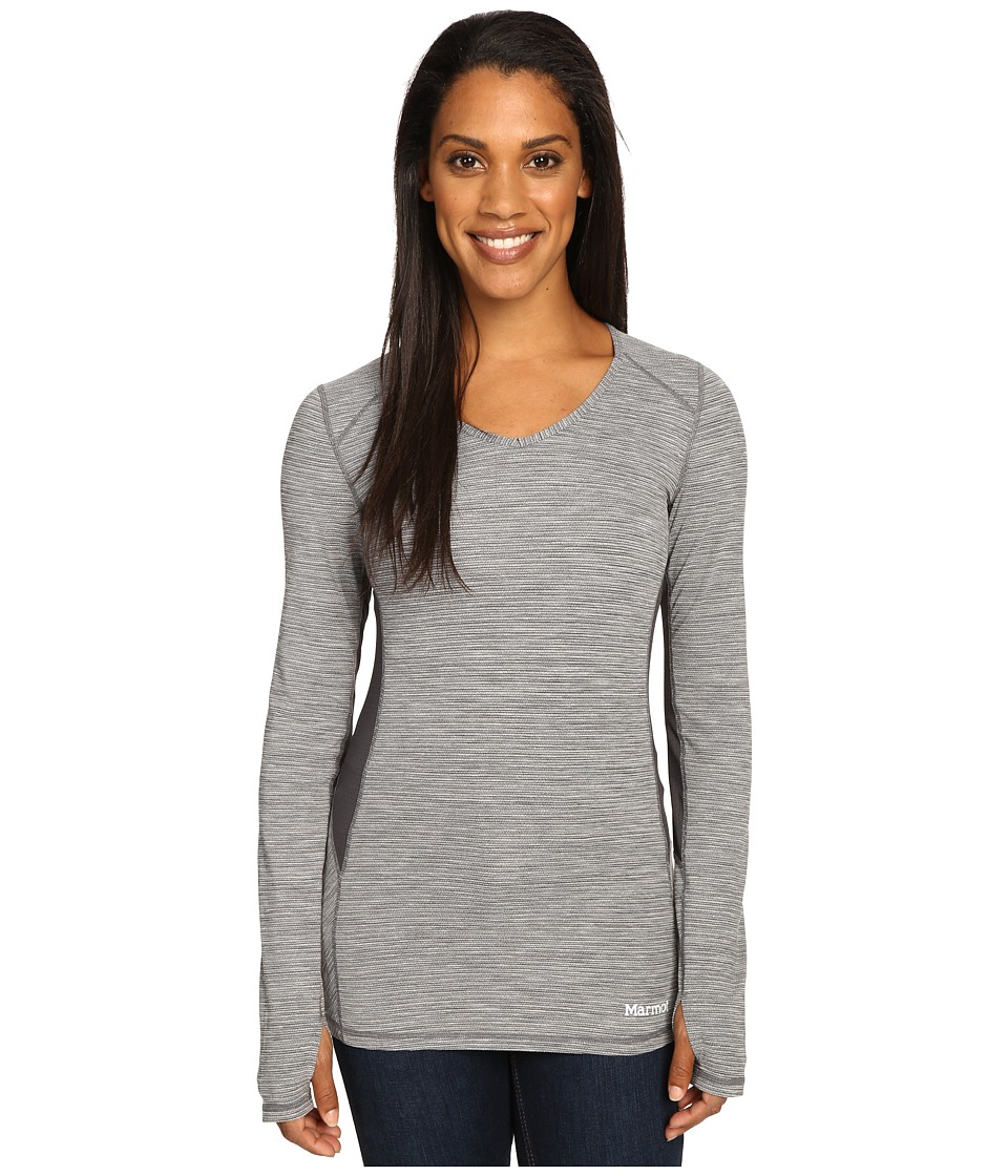 Marmot - Lateral Long Sleeve (Black) Women's Clothing