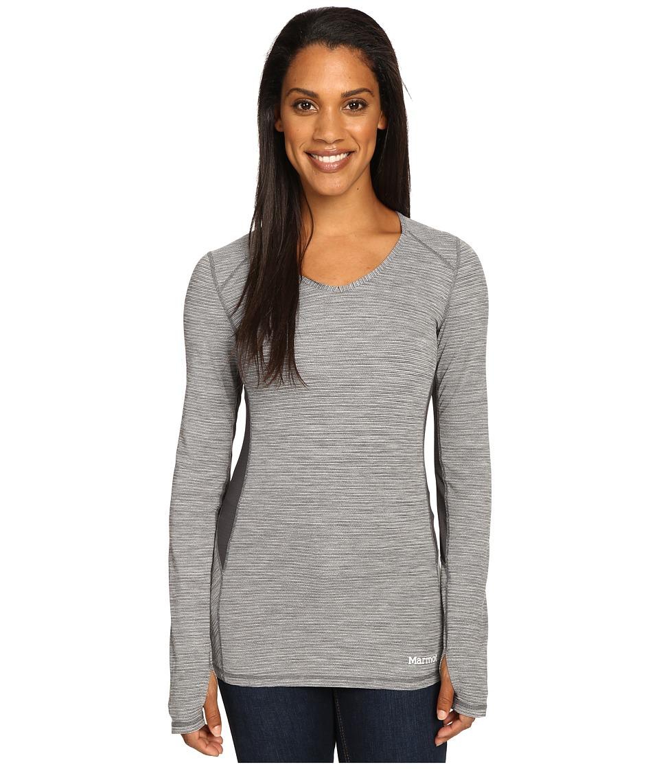 Marmot - Lateral Long Sleeve (Black) Women's Clothing