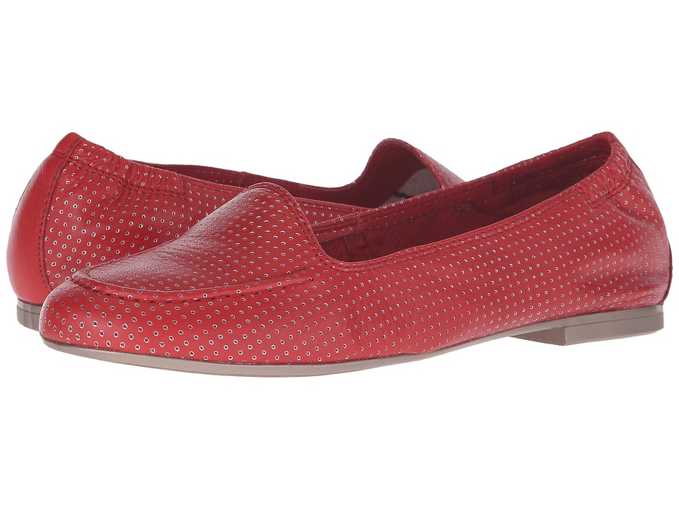 Hispanitas - Judith (Sauvage Pomodoro Perforated) Women's Flat Shoes
