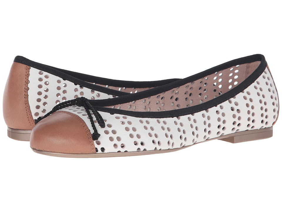 Hispanitas - Jodie (Sauvage Cammeo/Sauvage White) Women's Flat Shoes