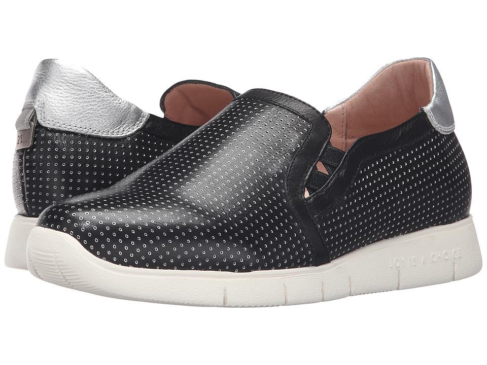 Hispanitas - Alivia (Sauvage Negro/Caribu Plata) Women's Shoes
