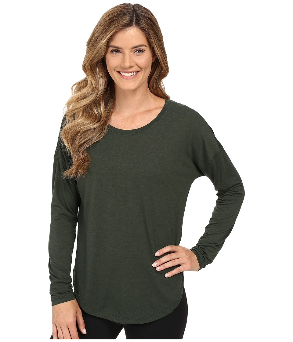 Lucy - Final Rep Long Sleeve Top (Deep Forest) Women's Long Sleeve Pullover