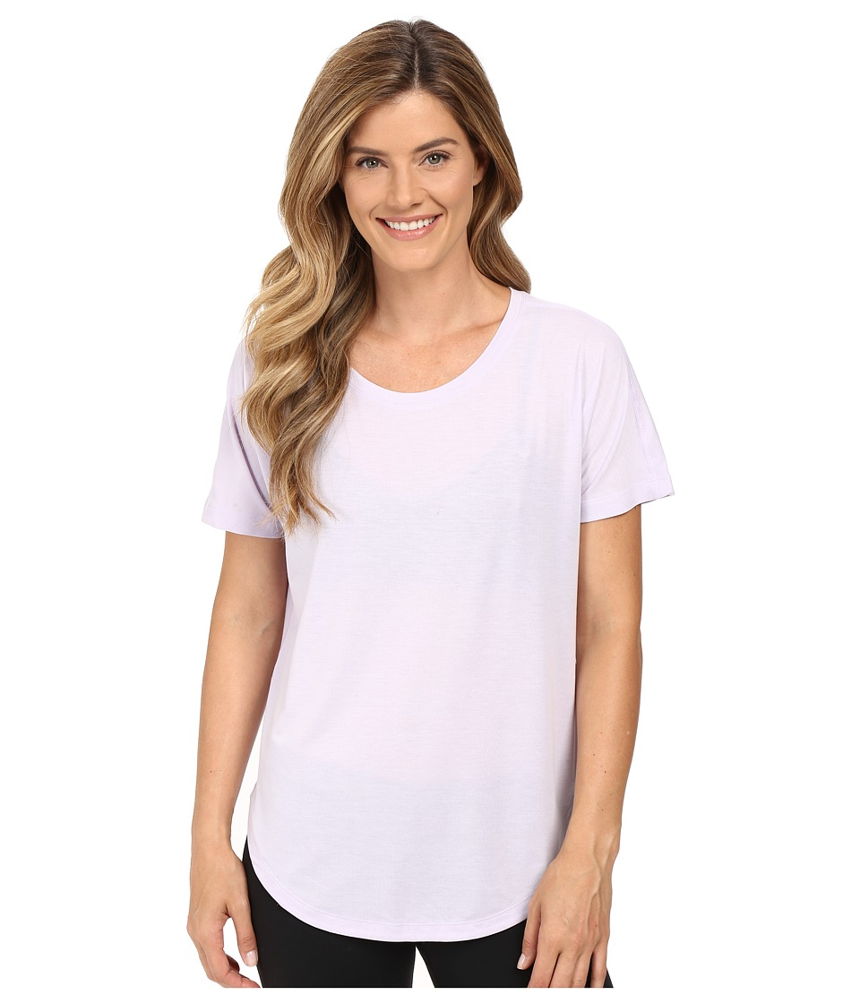 Lucy - Final Rep S/S (Sheer Lilac) Women's Short Sleeve Pullover
