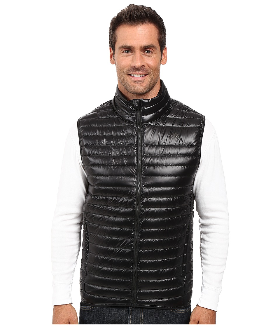 adidas Outdoor - Super Light Down Vest (Black) Men's Vest