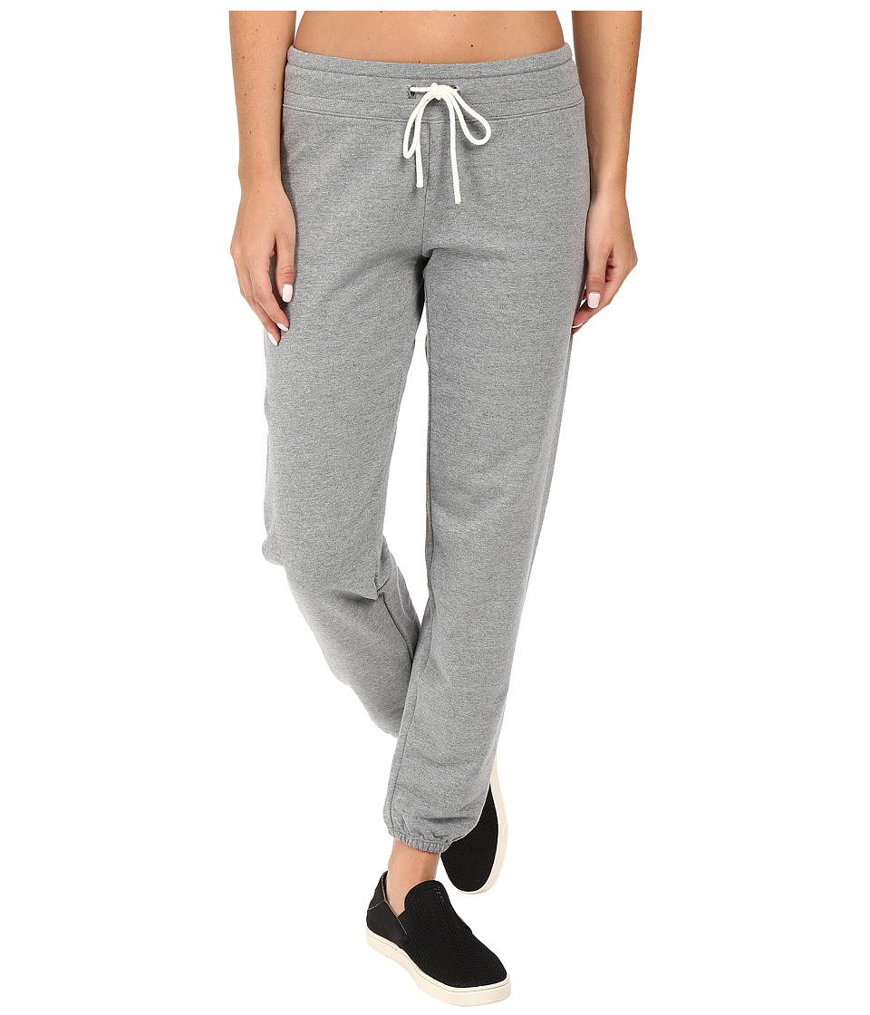 Lucy - Everyday Sweatpants (Silver Filigree Heather) Women's Workout