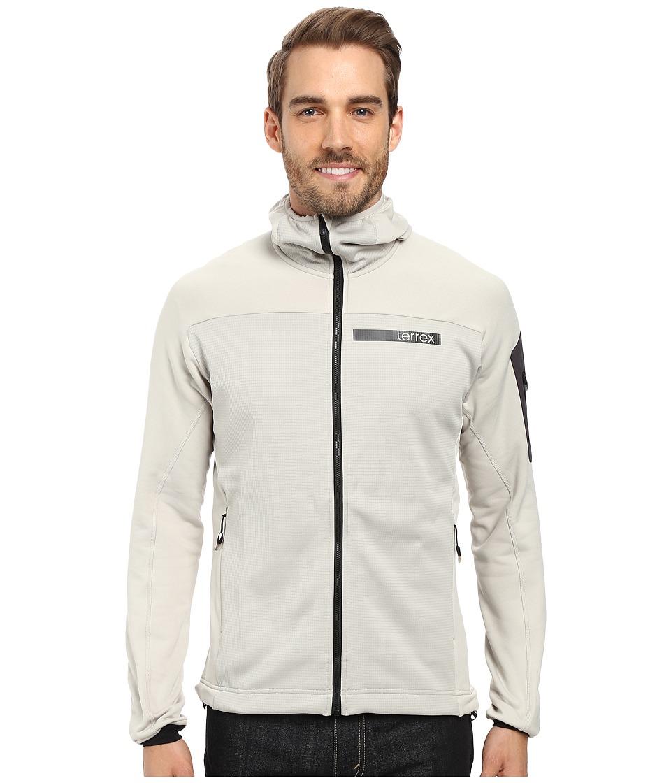 adidas Outdoor - Terrex Stockhorn Fleece Hooded Jacket (Sesame) Men's Coat