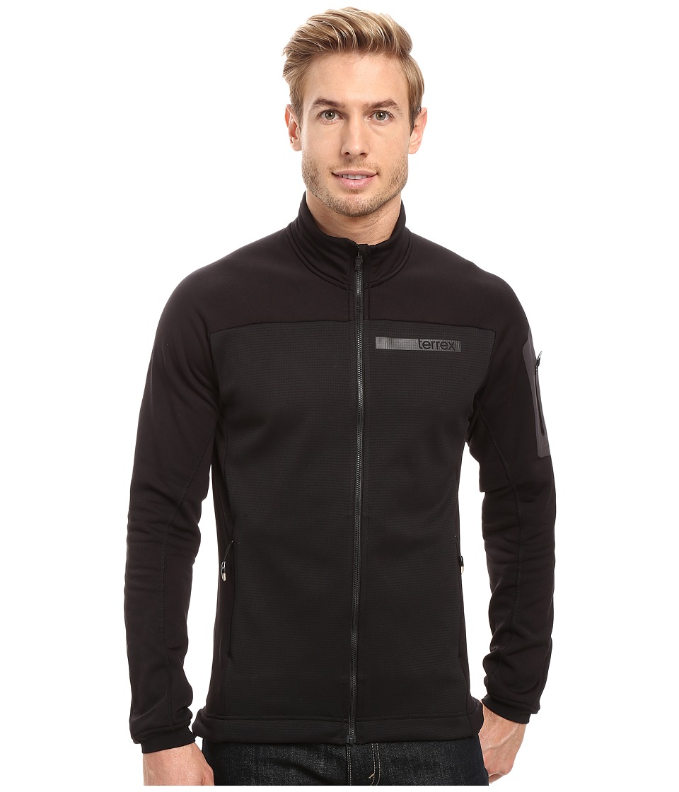 adidas Outdoor Terrex Stockhorn Fleece Jacket (Black) Men