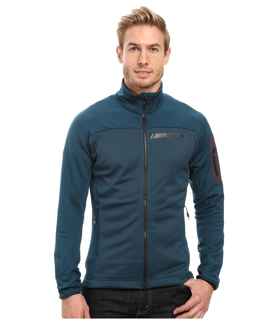 adidas Outdoor - Terrex Stockhorn Fleece Jacket (Utility Green) Men's Coat