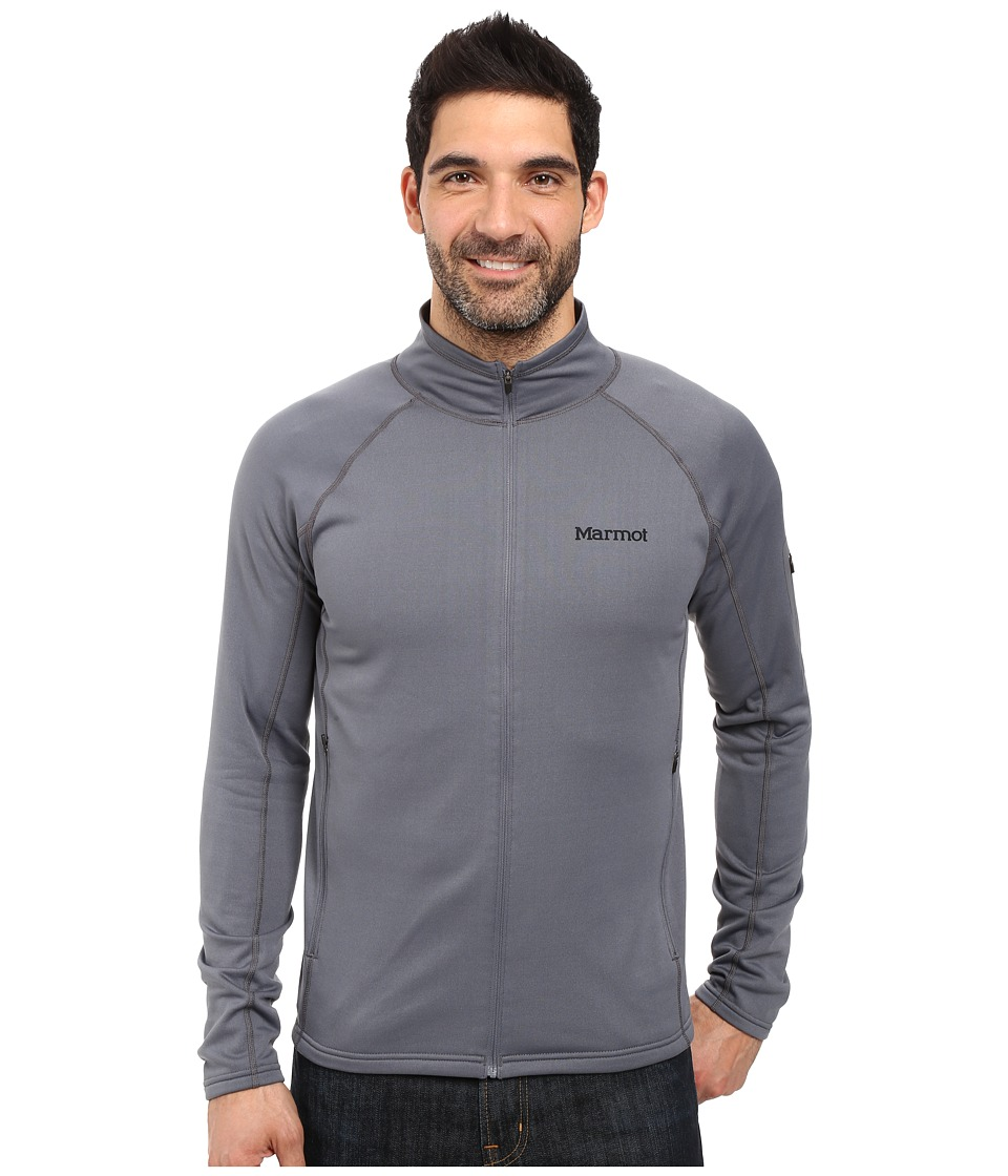 Marmot - Stretch Fleece Jacket (Steel Onyx) Men's Fleece