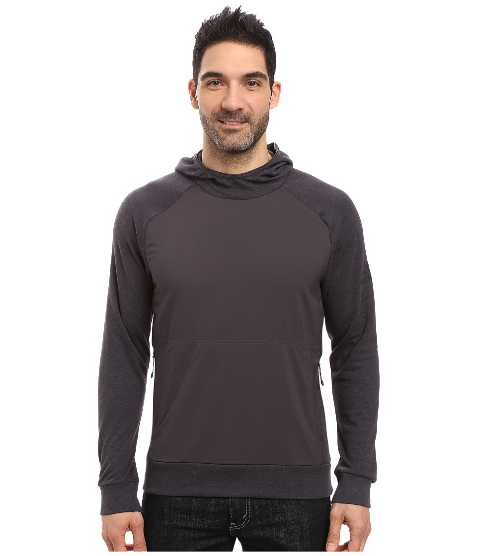 adidas Outdoor - Climb the City Hoodie (Utility Black) Men's Sweatshirt