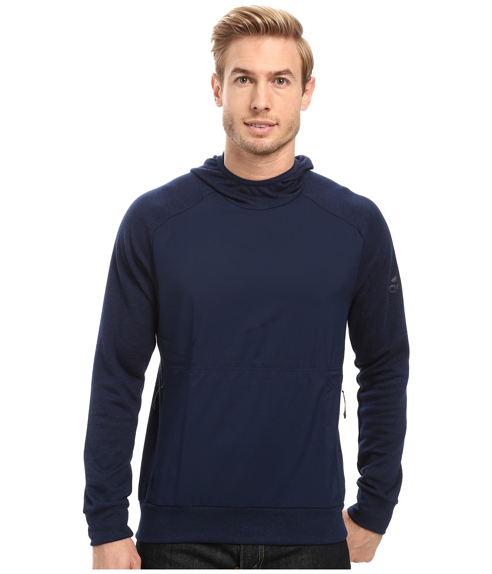 adidas Outdoor - Climb the City Hoodie (Collegiate Navy) Men's Sweatshirt