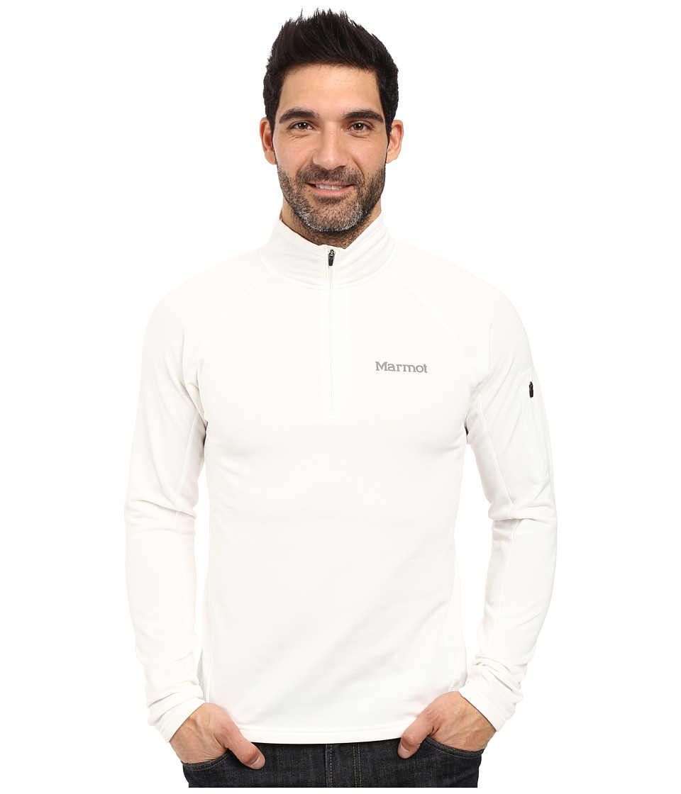 Marmot - Stretch Fleece 1/2 Zip (Soft White) Men's Long Sleeve Pullover
