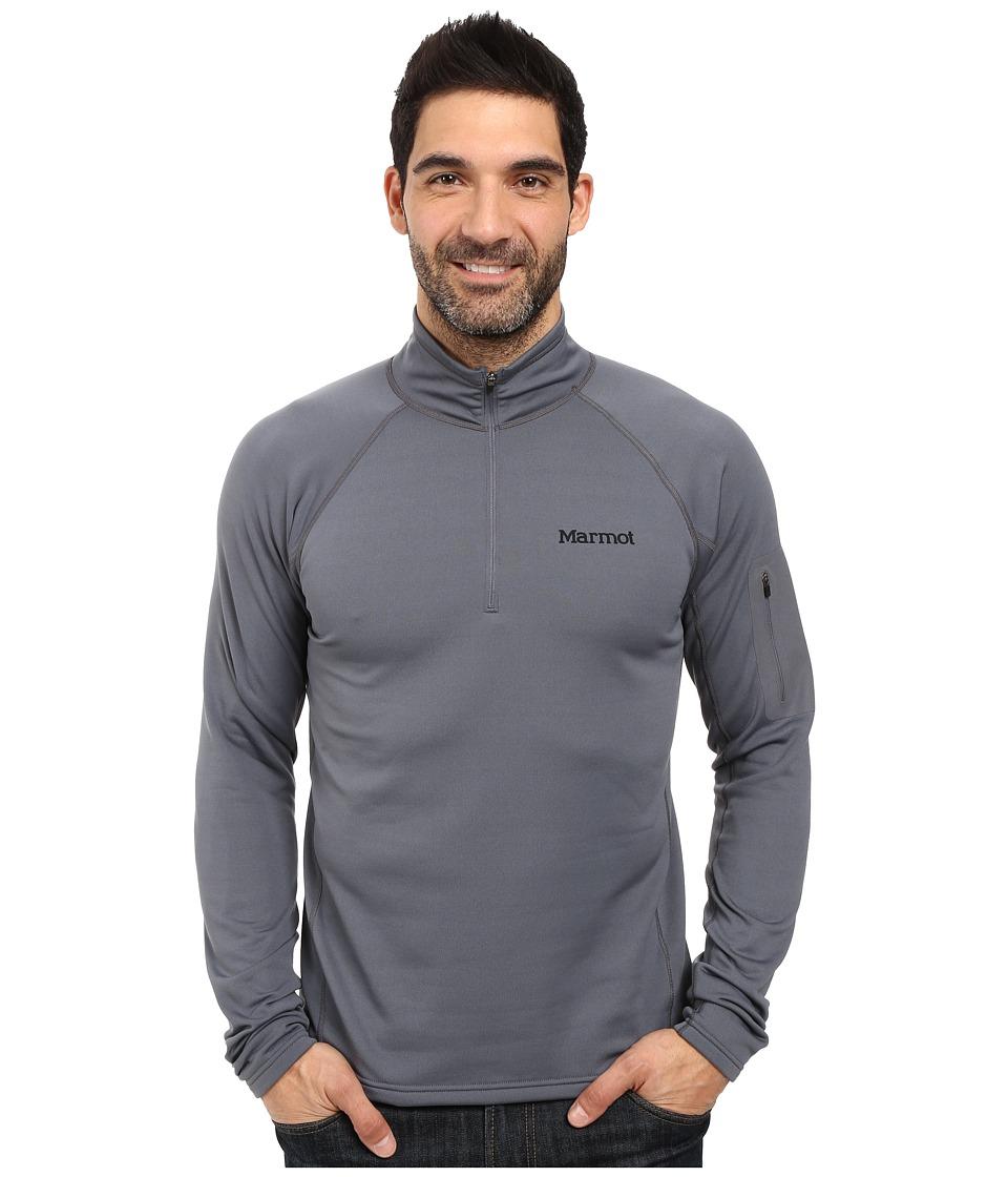 Marmot - Stretch Fleece 1/2 Zip (Steel Onyx) Men's Long Sleeve Pullover