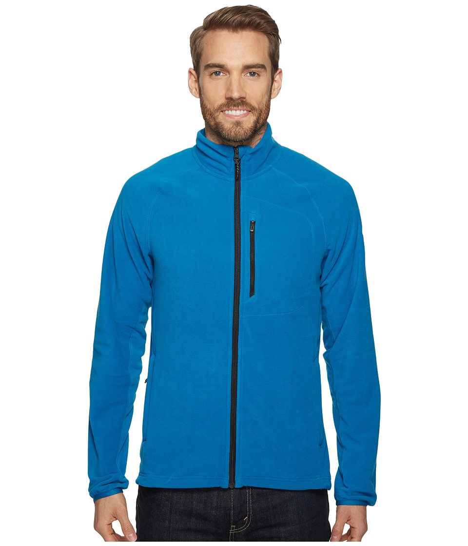 adidas Outdoor - Reachout Fleece Jacket (Unity Blue) Men's Coat
