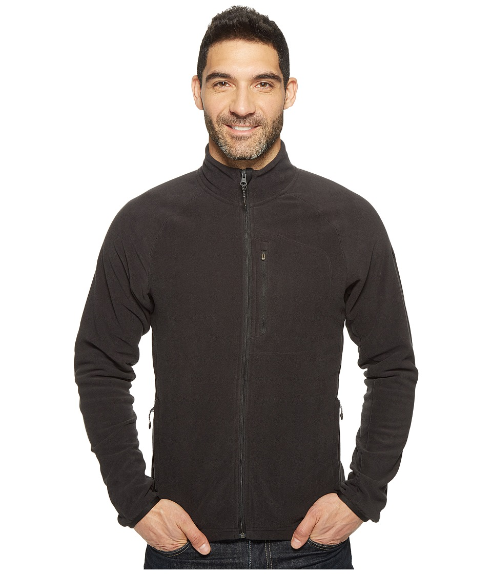 adidas Outdoor - Reachout Fleece Jacket (Black) Men's Coat