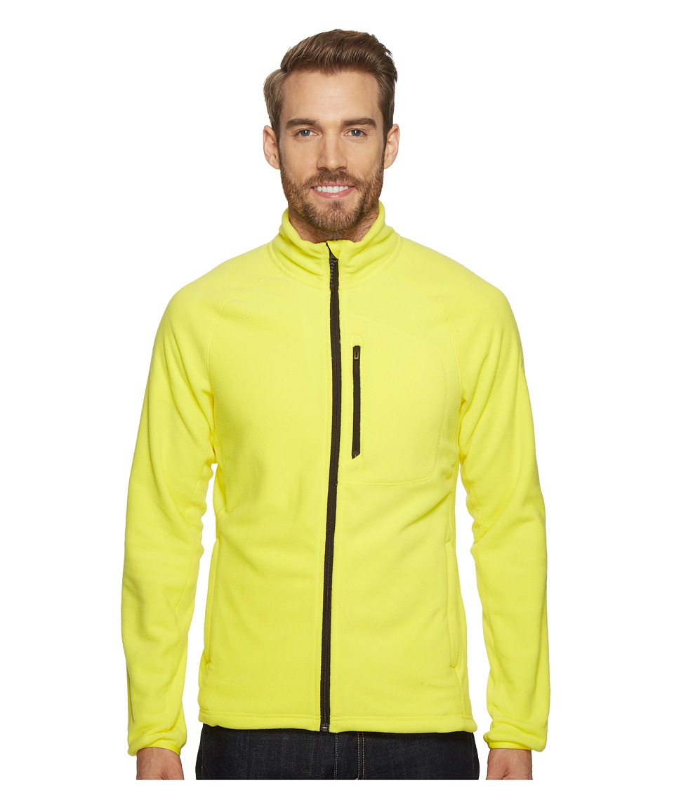 adidas Outdoor - Reachout Fleece Jacket (Bright Yellow) Men's Coat