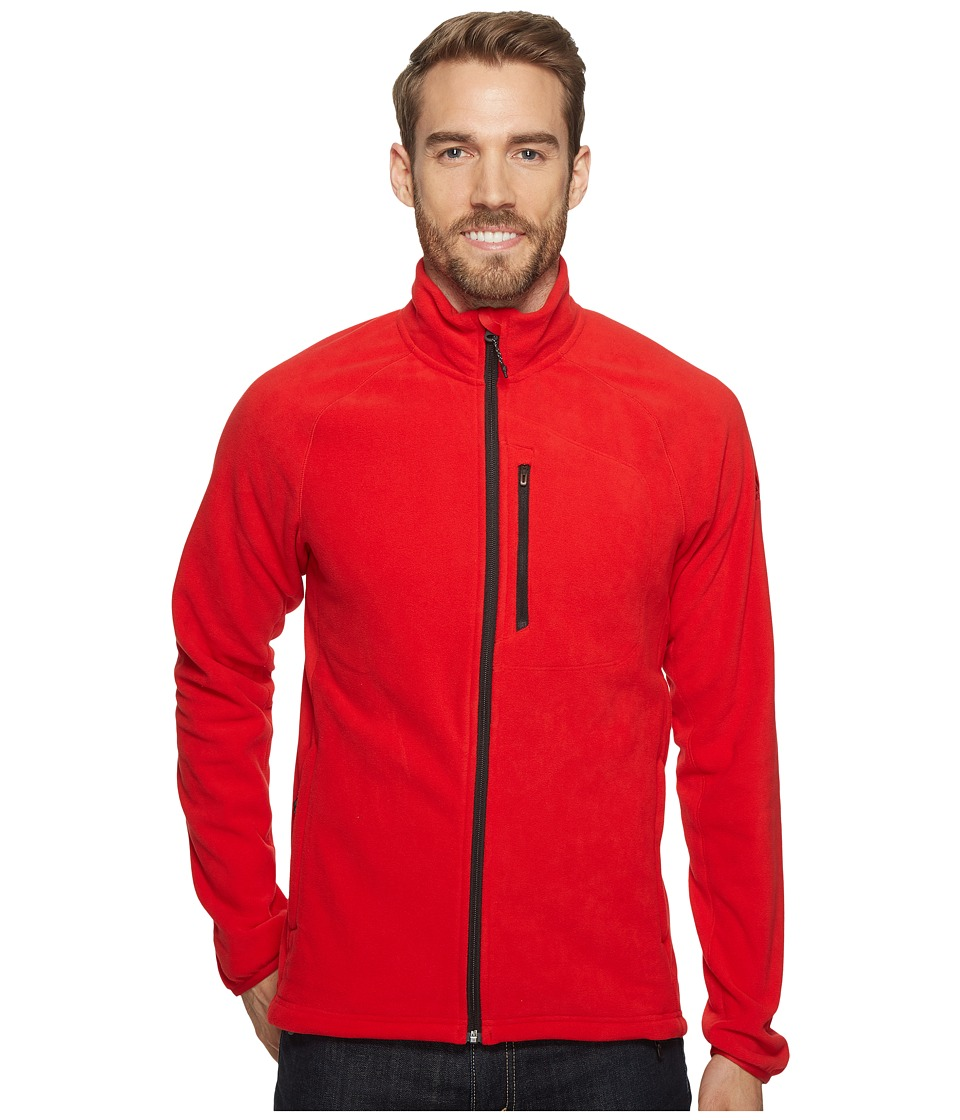 adidas Outdoor - Reachout Fleece Jacket (Scarlet) Men's Coat
