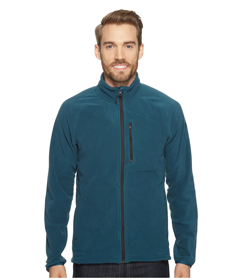 adidas Outdoor - Reachout Fleece Jacket (Utility Green) Men's Coat
