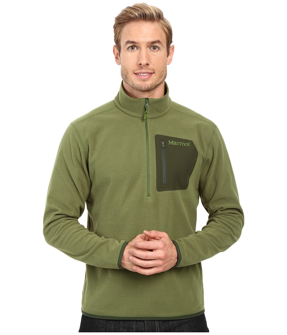 Marmot - Rangeley 1/2 Zip (Alpine Green) Men's Long Sleeve Pullover
