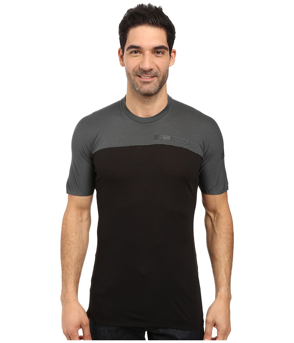 adidas Outdoor - Terrex Solo Tee (Black) Men's T Shirt