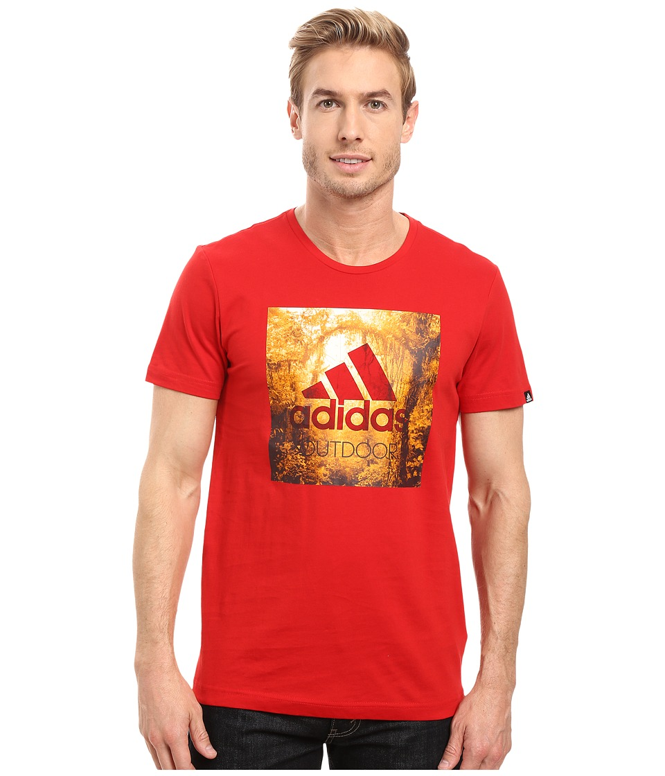 adidas Outdoor - Outdoor Tee (Scarlet) Men's T Shirt