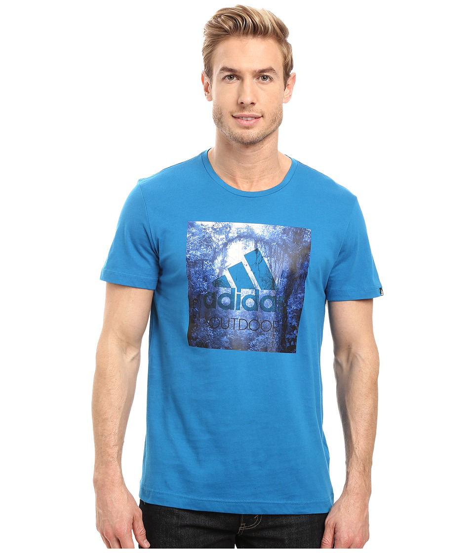 adidas Outdoor - Outdoor Tee (Unity Blue) Men's T Shirt
