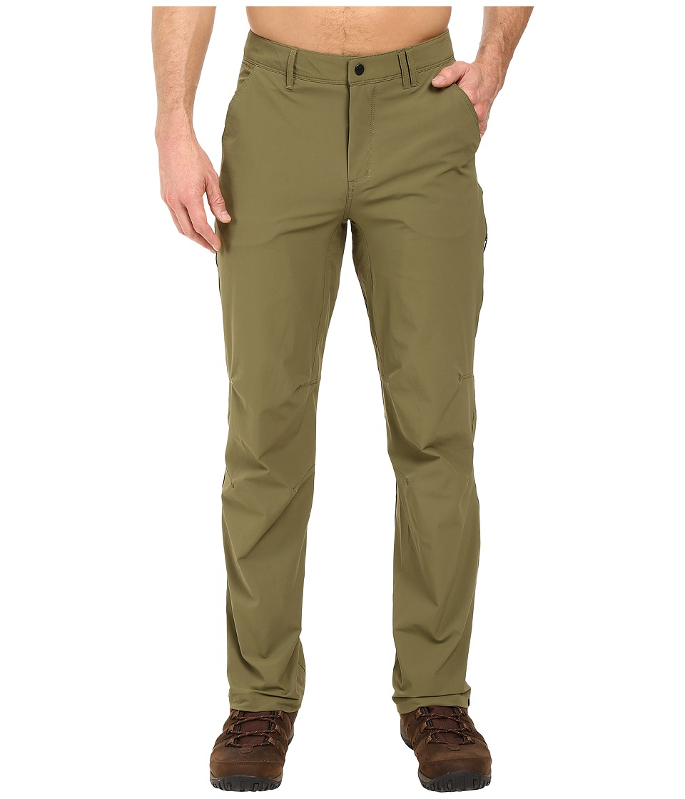 adidas Outdoor All Outdoor Flex Hike Pants (Olive Cargo) Men