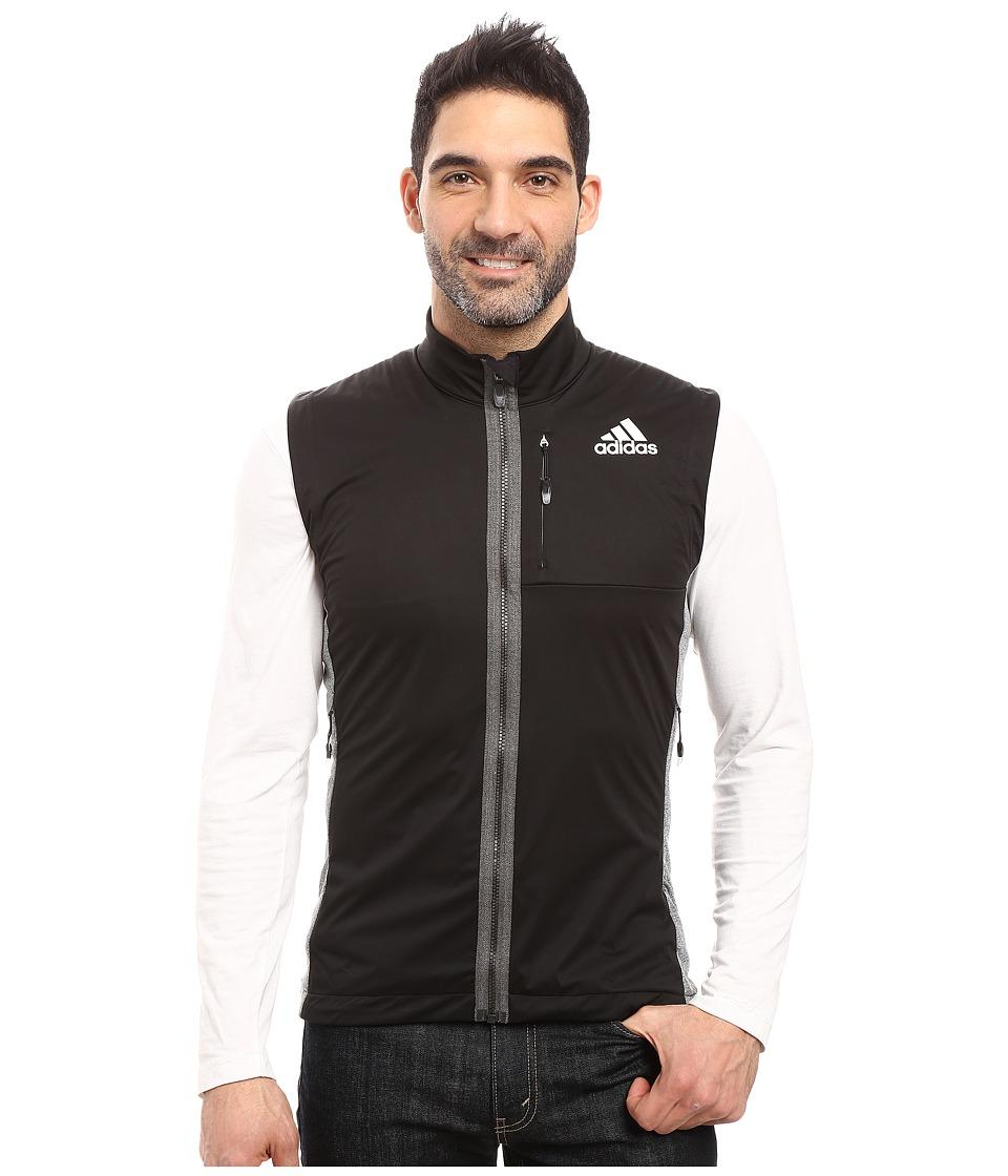 adidas Outdoor - Xperior Softshell Vest (Black) Men's Vest