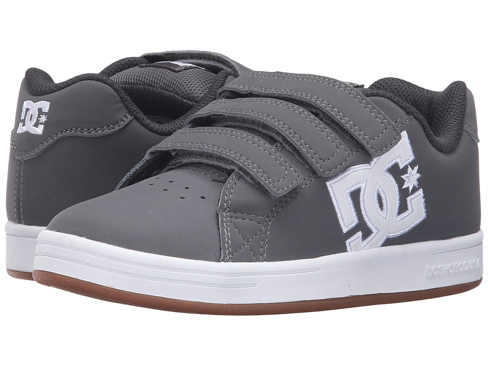 DC Kids - Character V (Little Kid) (Grey/White) Boys Shoes