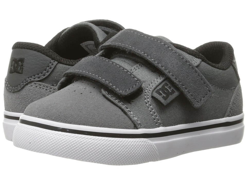 DC Kids - Anvil V (Toddler) (Grey/Black/Grey) Boys Shoes