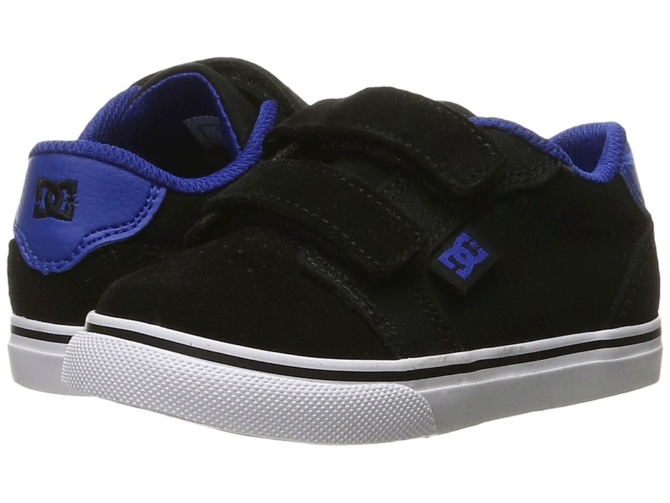 DC Kids - Anvil V (Toddler) (Black/Blue/White) Boys Shoes