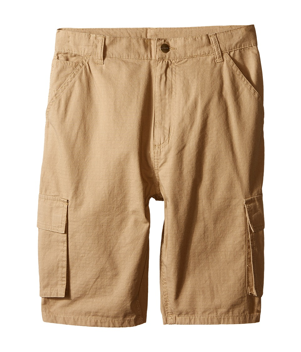 Carhartt Kids - Ripstop Cargo Shorts (Big Kids) (Dark Khaki) Boy's Shorts