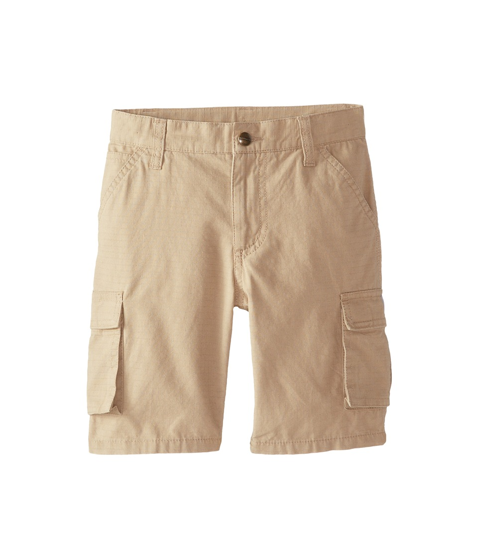 Carhartt Kids - Ripstop Cargo Shorts (Little Kids) (Dark Khaki) Boy's Shorts