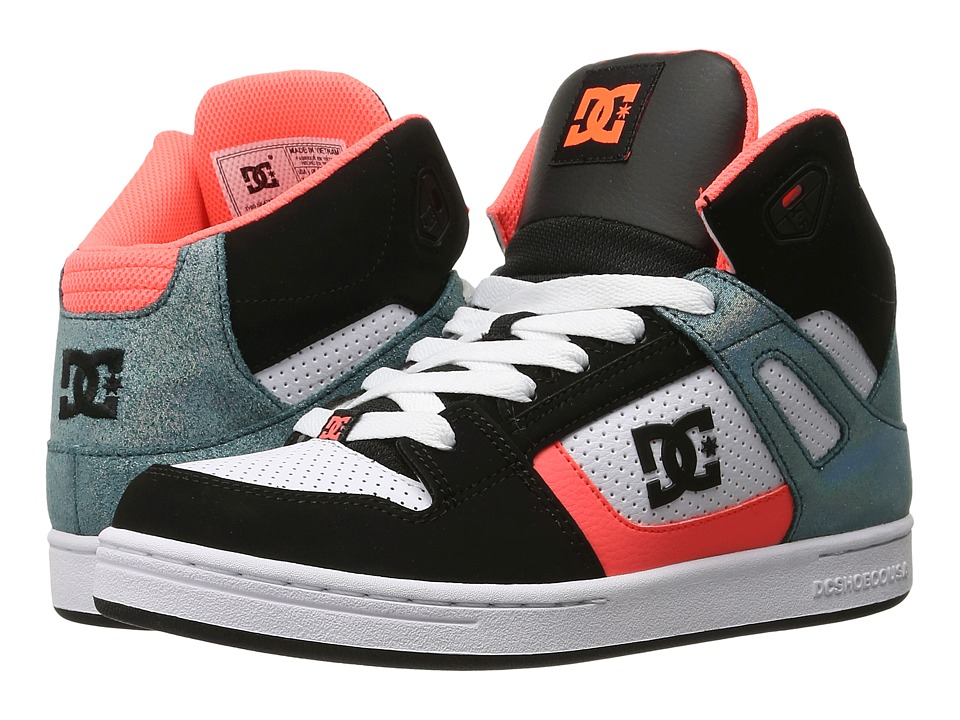 DC Kids - Rebound SE (Big Kid) (Black/Multi/White) Girls Shoes