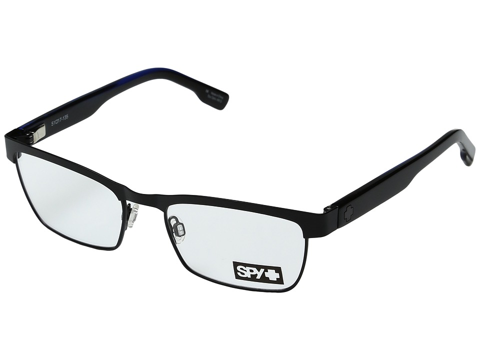 Spy Optic - Paxton (Matte Black/Black Blue Horn) Sport Sunglasses