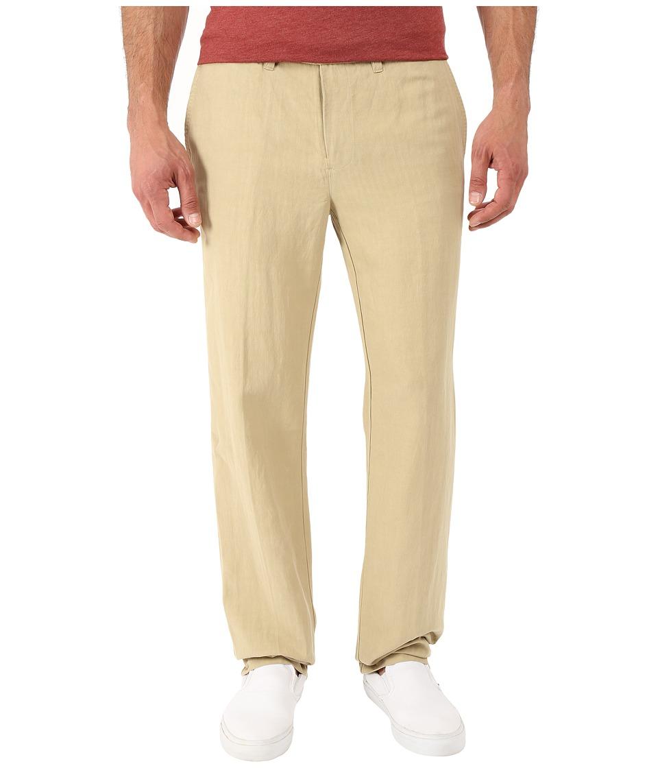 Tommy Bahama - Corsica Flat Front Pants (Stone Khaki) Men's Casual Pants