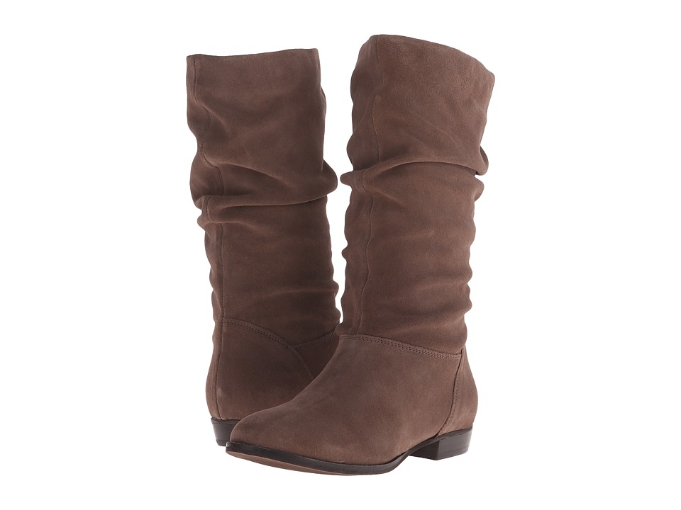 Dune London - Relissa (Taupe Suede) Women's Pull-on Boots
