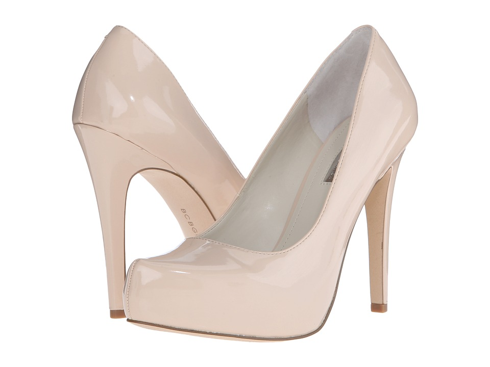 BCBGeneration - Parade (Nude Blush Patent PU) High Heels