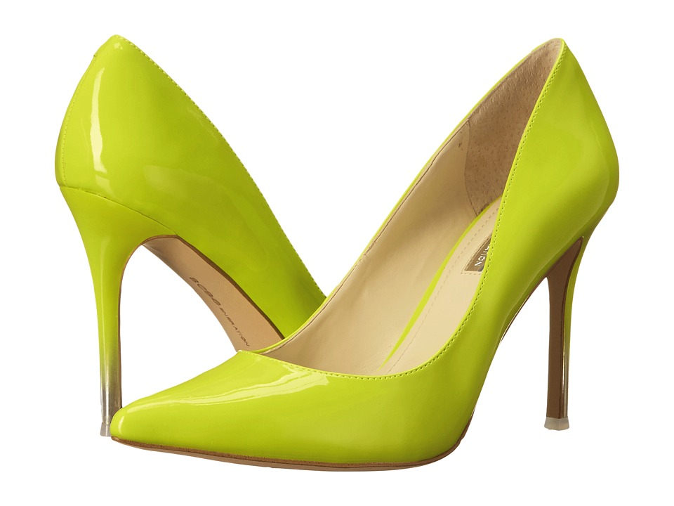 BCBGeneration - Treasure (Ultra Lime Patent PU) High Heels