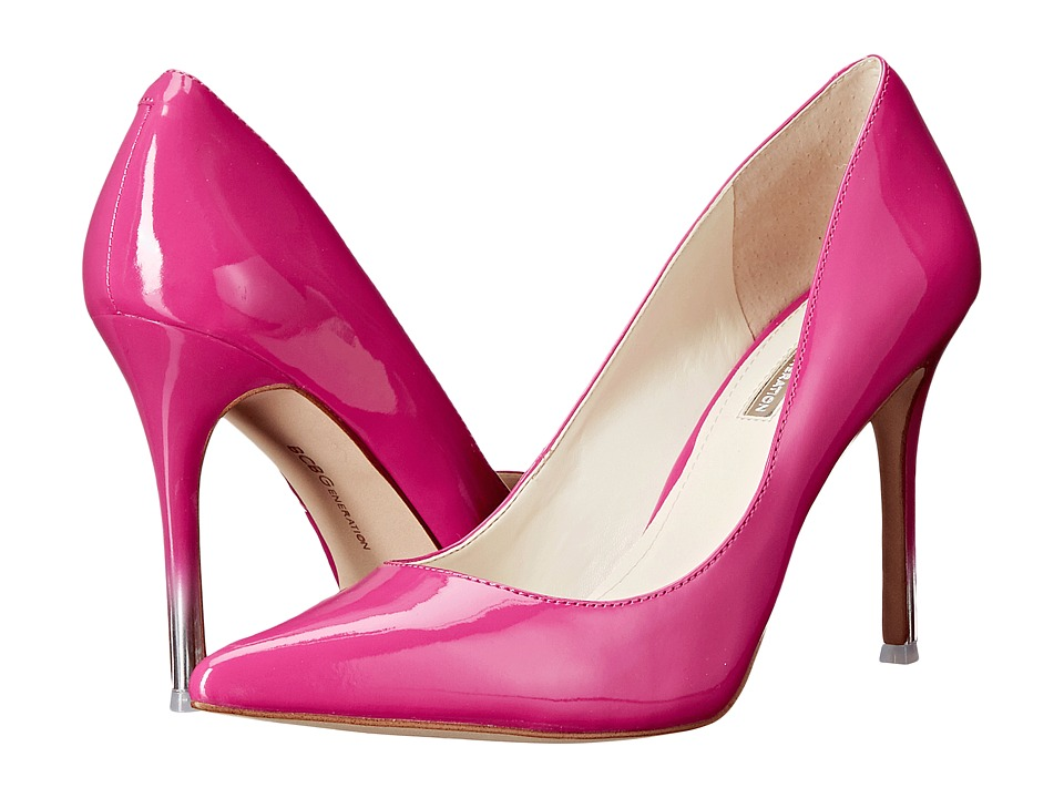 BCBGeneration - Treasure (Flash Pink Passion PU) High Heels
