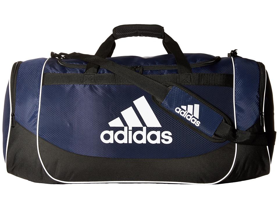 adidas - Defender Large Duffel Bag (Collegiate Navy) Duffel Bags