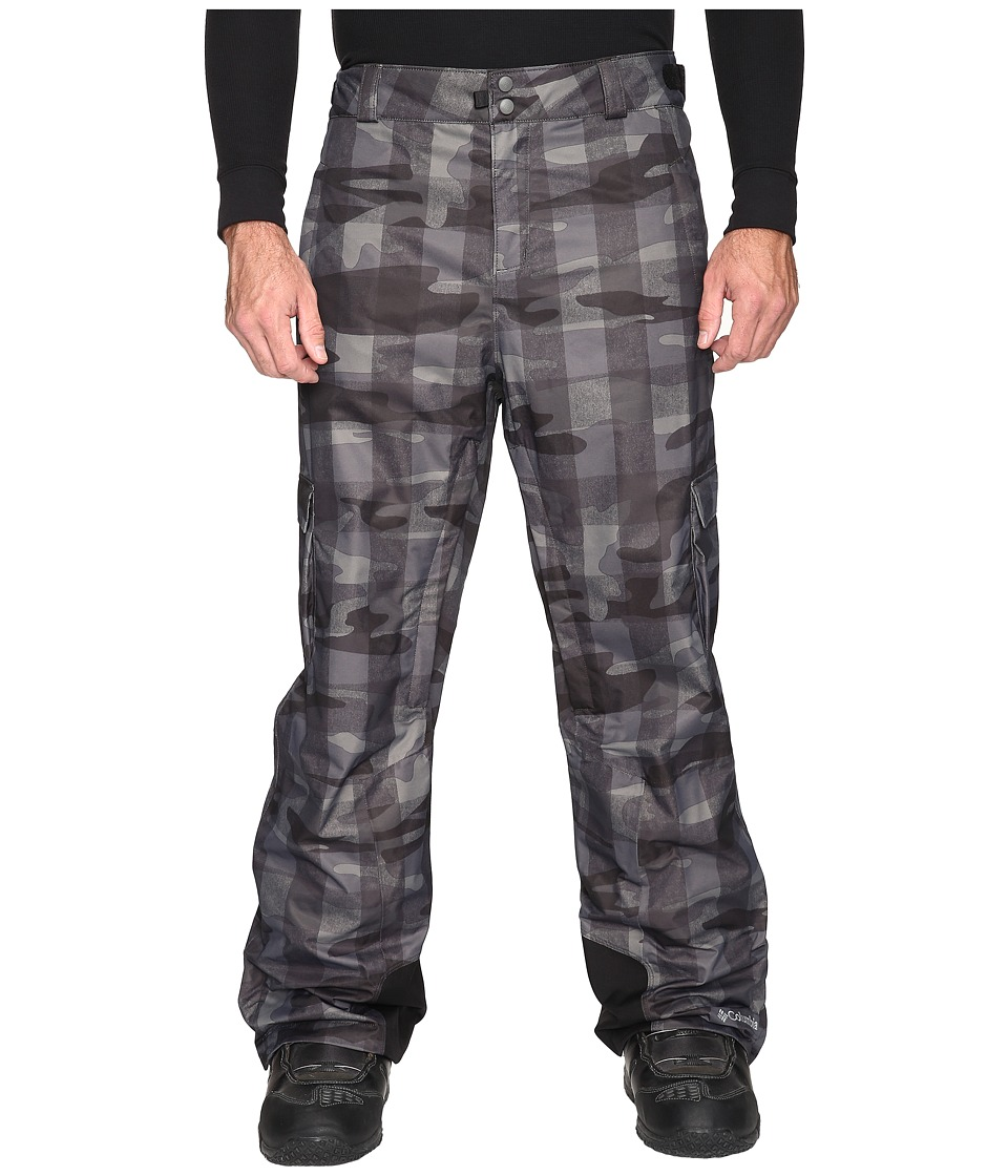 Columbia - Big Tall Ridge 2 Run II Pant (Black Buffalo Camo) Men's Casual Pants