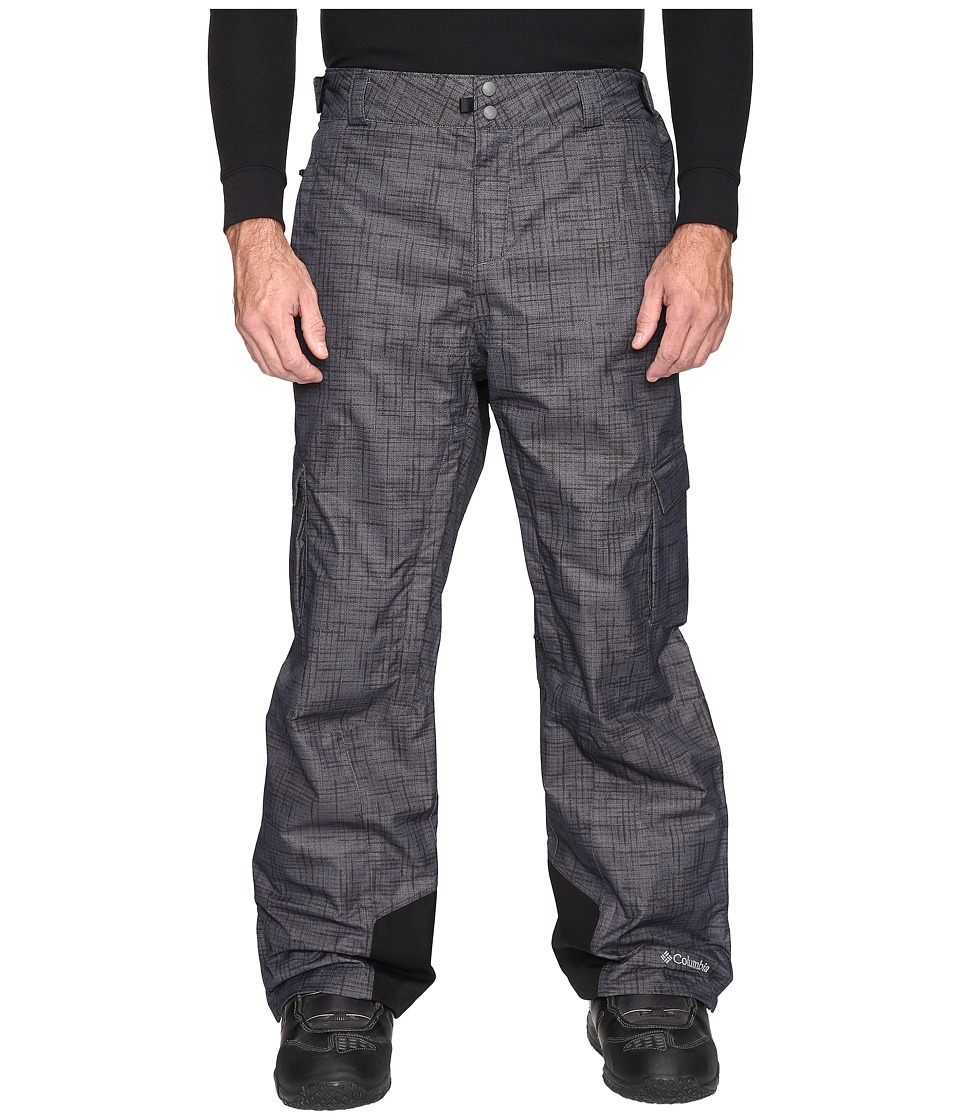 Columbia - Big Tall Ridge 2 Run II Pant (Black Tweed Plaid) Men's Casual Pants