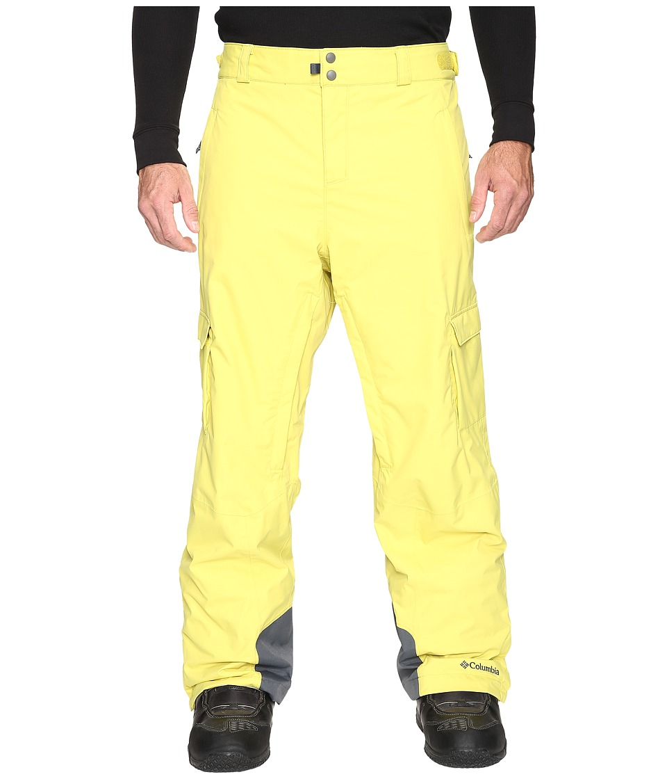 Columbia - Big Tall Ridge 2 Run II Pant (Mineral Yellow) Men's Casual Pants