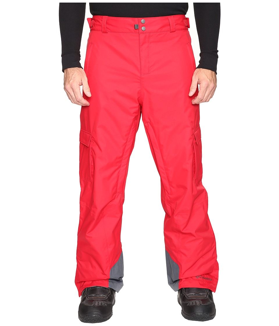 Columbia - Big Tall Ridge 2 Run II Pant (Mountain Red) Men's Casual Pants